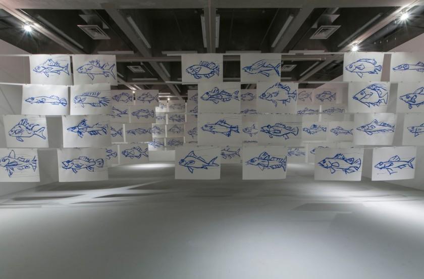 joan-jonas-100-fish-japan-kitakyushu